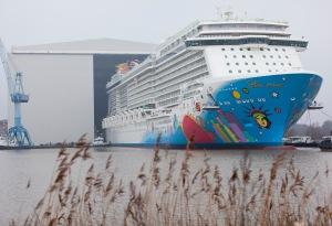 Norwegian's newest cruise ship the Breakaway.