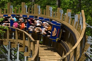 Holiday World's Voyage coaster!