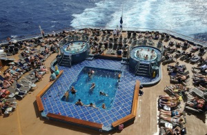 Enjoy poolside fun! Courtesy of Carnival Cruise Line