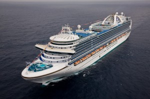 The Ruby Princess is a beautifully crafted cruise ship with many upscale amenities. Photo courtesy of Princess.