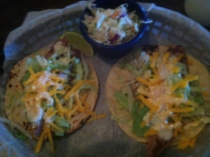 Enjoy fish tacos from Killer Seafood.