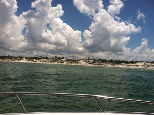 Boating with Capt. Mitch of FloriDaze Adventures.