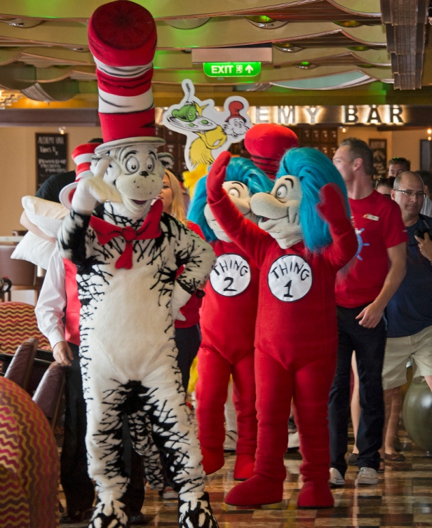 Dr. Seuss at Sea with Carnival Cruise Line