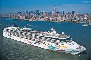 Norwegian Dawn courtesy of Norwegian Cruise Line.