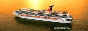 Carnival Liberty photo courtesy of Carnival Cruise Line.