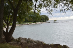 View from Kelleys Island on Lake Erie.
