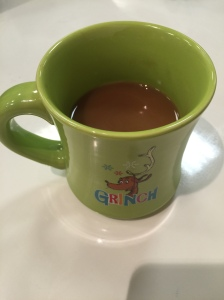 grinch coffee cup