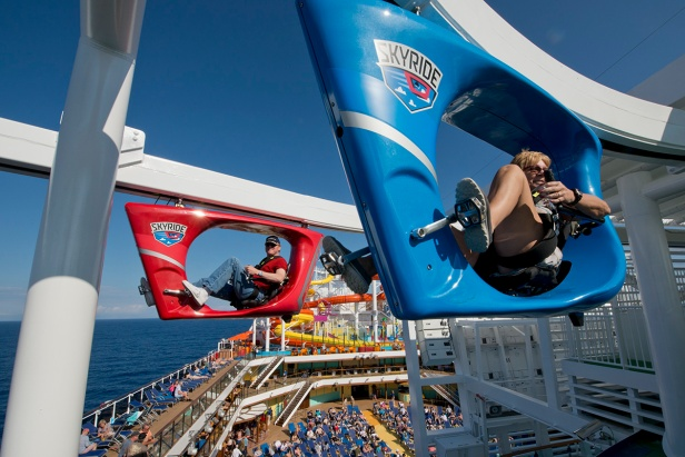 Carnival Vista SkyRide Aerial Attraction