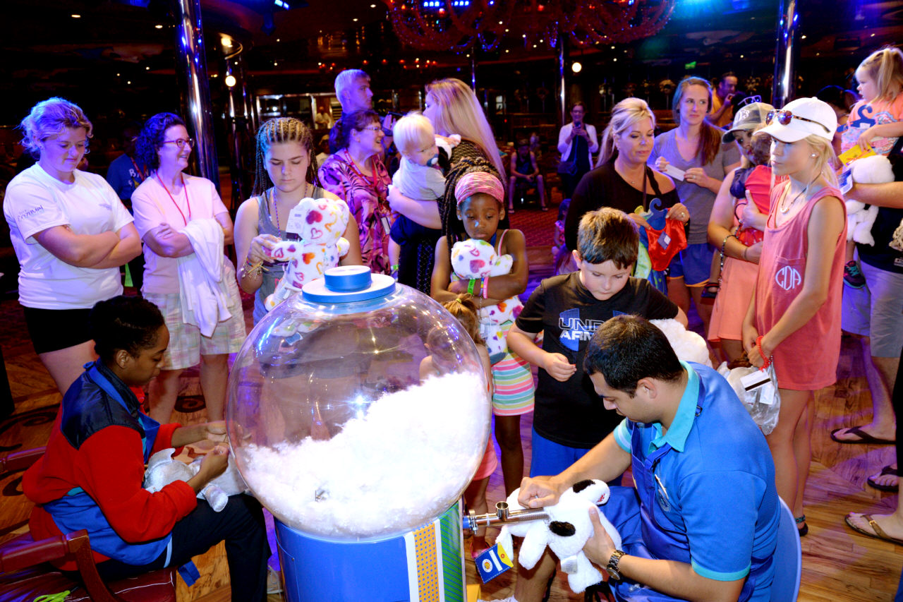 BUILD-A-BEAR WORKSHOPS NOW ON CARNIVAL