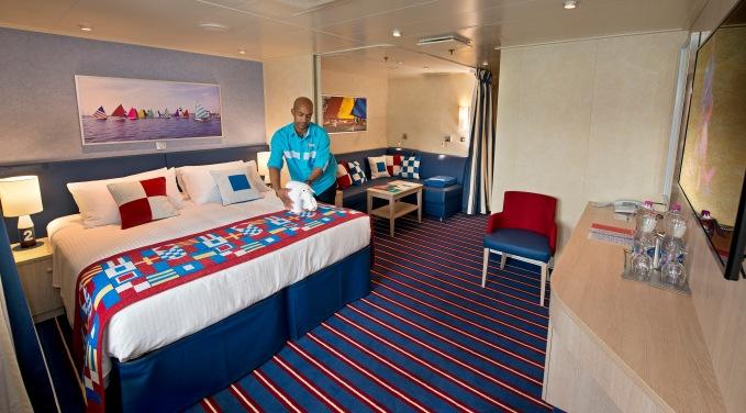 Carnival Cruise Line Vista Family Cabin