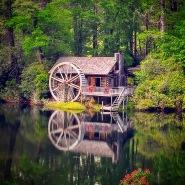 The Honeymoon Cottage at High Hampton Inn & Country Club in Cashiers, NC.